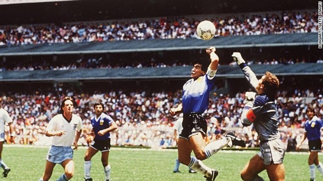 Maradona's 'Hand of God' shirt not for sale