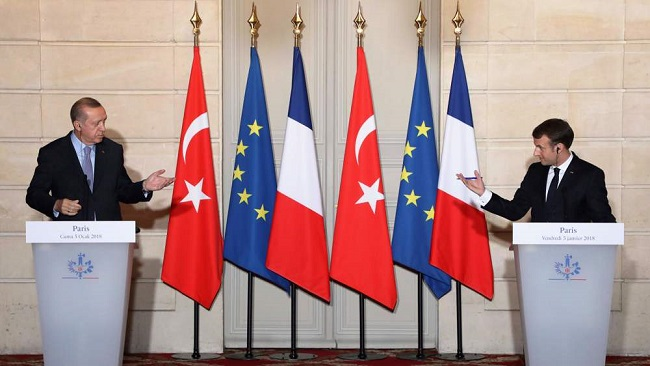 Turkish President Erdogan says France should 'get rid of' Macron soonest