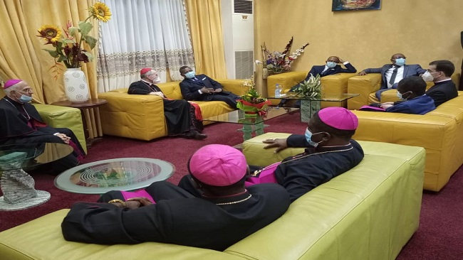 The greater the sinner, the greater God's love: Vatican's secretary of state meets Prime Minister Ngute