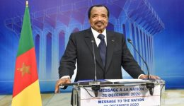 Ailing Biya projects economy to grow 4.4 percent in 2022