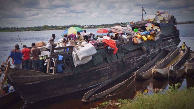 At least 60 die in Congo River shipwreck