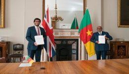 UK doing business with Biya