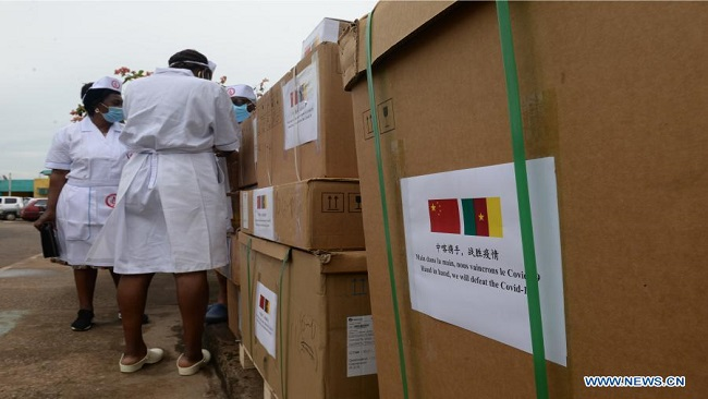 CPDM Crime Syndicate receives China-donated medical equipment to fight COVID-19
