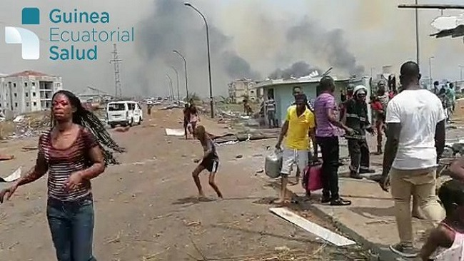 Making of Obiang Nguema II: Series of explosions hits military barracks in Equatorial Guinea