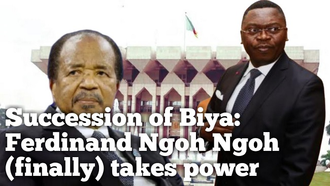 Southern Cameroons Crisis: Ferdinand Ngoh Ngoh is now the biggest spender in the Biya regime