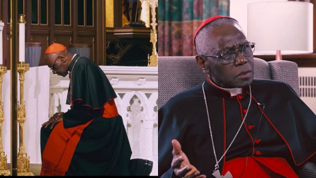 "Cardinal Robert Sarah: ""I have never opposed the pope."""