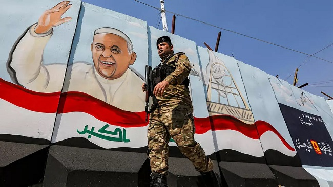 Pope Francis Iraq Visit: Rockets slam base hosting US troops