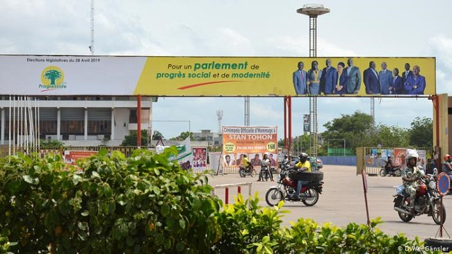 Benin's Talon reelected president with 86 percent of vote