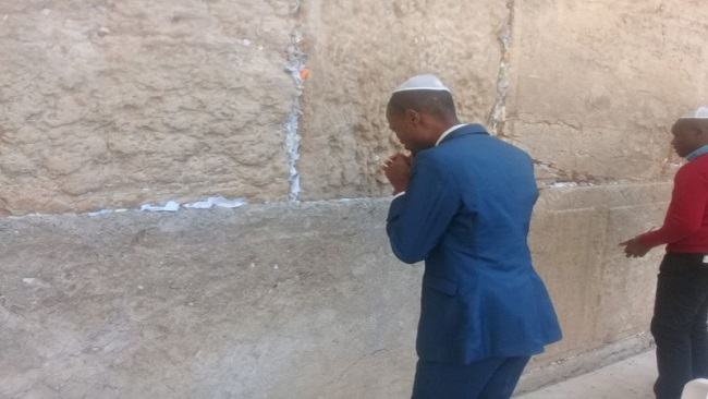 Christians, CRTV'S Charles Ebune mark Good Friday: Jerusalem is for everyone