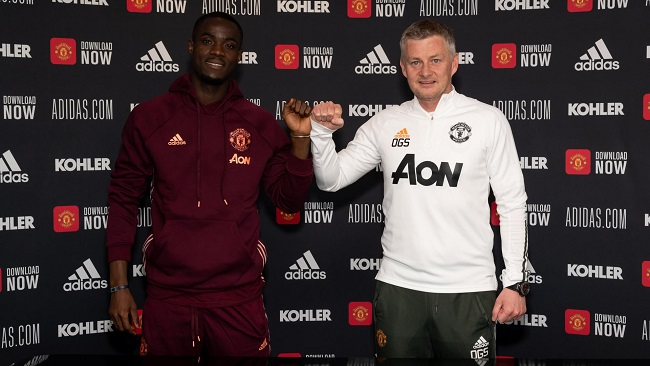 Football: Man Utd's Bailly signs new three-year contract