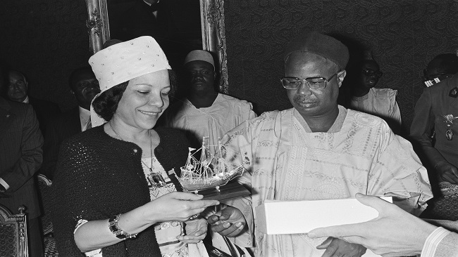 Cameroon's former First Lady Germaine Ahidjo dies in Senegal hospital aged 89