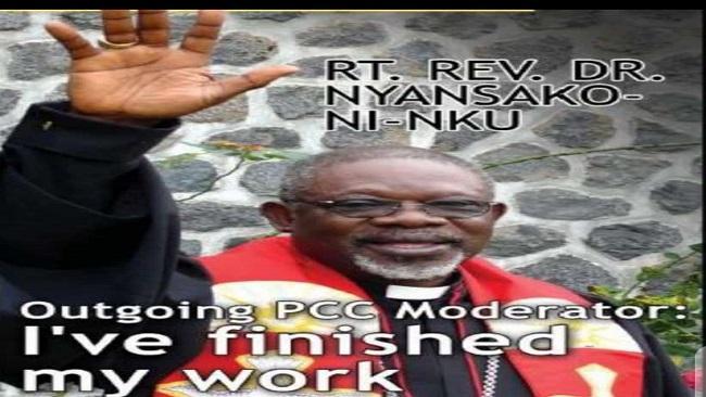 PCC: Prayerful condolences on death of Moderator Nyansako Ni Nku