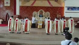 Seven priests ordained for Mamfe's Catholic Diocese
