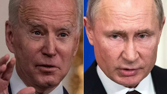 Biden and Putin to hold their first summit in Geneva in June