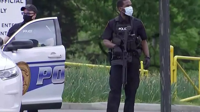US: Armed man shot after standoff outside CIA headquarters in Virginia