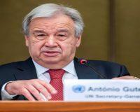 Antonio Guterres lays out vision for second term as UN chief