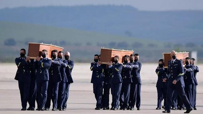 Bodies of three Europeans killed in Burkina Faso arrive in Spain