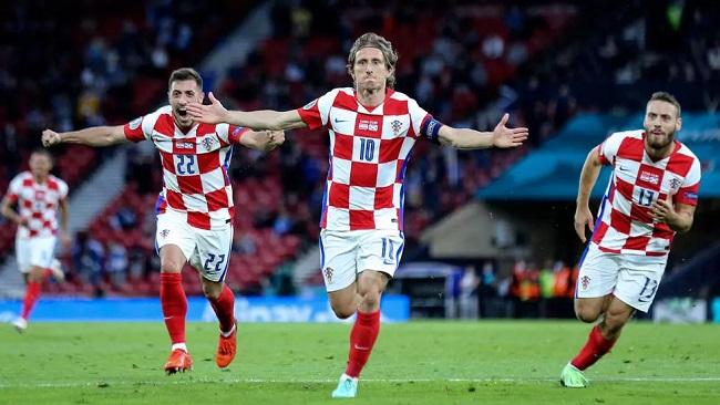 Croatia secures spot alongside England, Czech Republic in Euro 2020 round of 16