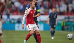 Football: Inter Milan doctor says Eriksen showed 'no hint of health problem'