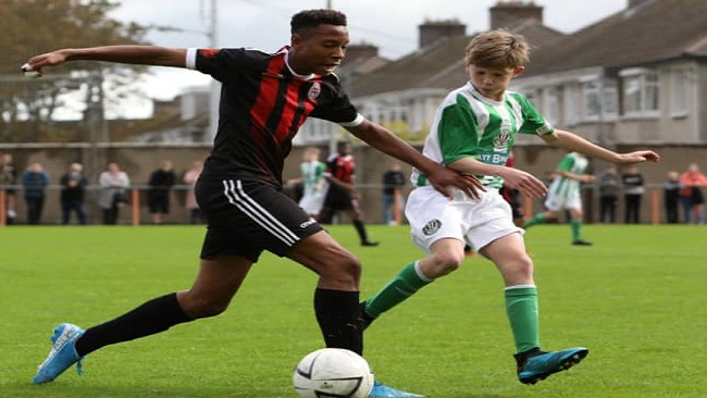 Irish Football U16: Nickson Okosun of Bohemians/St Kevin's Boys FC among Osam's 22 players