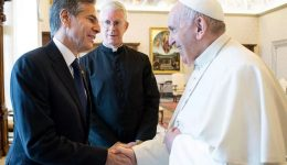 Blinken meets Pope Francis as US bishops campaign to deny Biden Communion