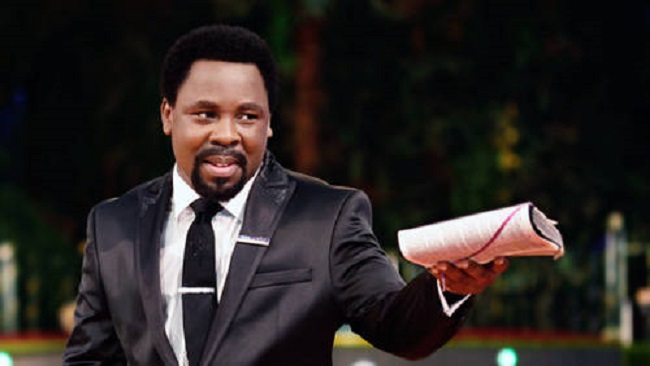 T.B Joshua attempted to join Nigerian Army