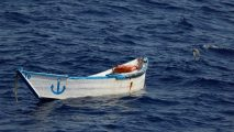 At least 57 Europe-bound migrants drown after boat capsizes off coast of Libya