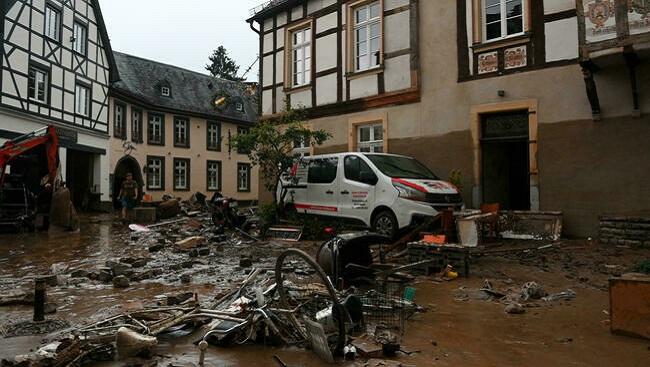 Hundreds missing in Germany after massive floods leave scores dead