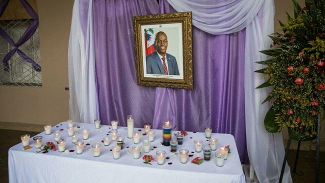 Haiti holds funeral for slain president Moise under tight security