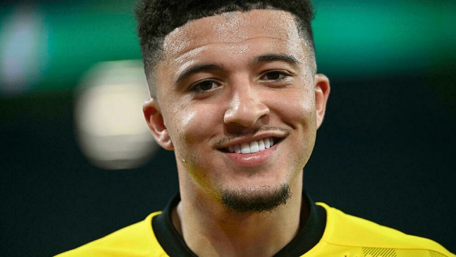 Manchester United sign Sancho on five-year deal from Dortmund