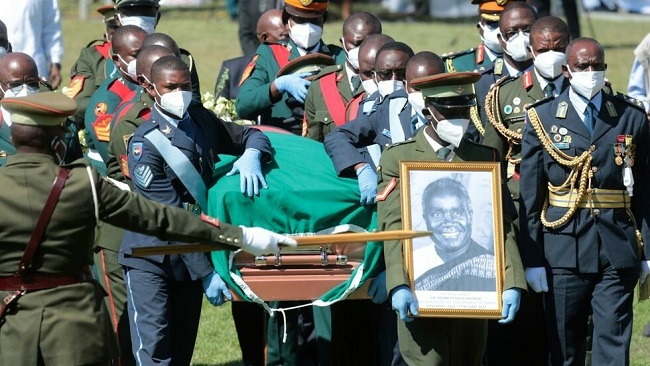African leaders, Zambians pay respects to founding president Kenneth Kaunda