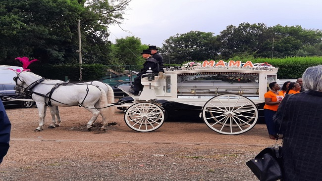 As it happened: Mama Mercy Bessem Tataw laid to rest in Hendon Cemetery