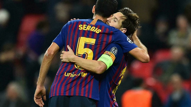 Football tsunami: Barca captain Busquets 'trying to digest' Messi departure