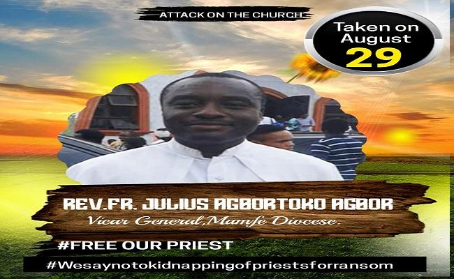 Father Julius Agbortoko must be released!