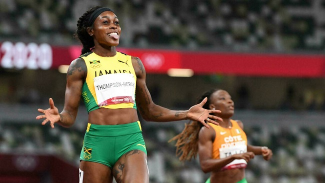 Jamaica's Thompson-Herah wins 200m to seal Olympic double