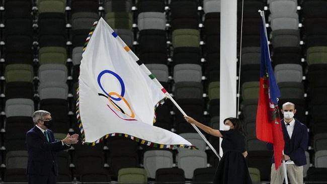 Olympic flag arrives in Paris ahead of 2024 Games