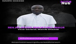 Southern Cameroons Crisis: Rev. Father Julius Agbortoko Released