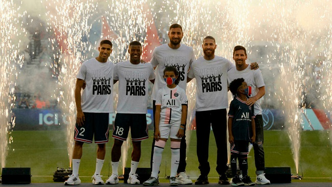 Football: Messi gets huge ovation from PSG supporters ahead of French league game