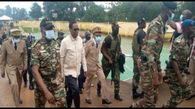 Southern Cameroons Crisis: Defense minister in Bamenda, vows to end incessant killing of soldiers