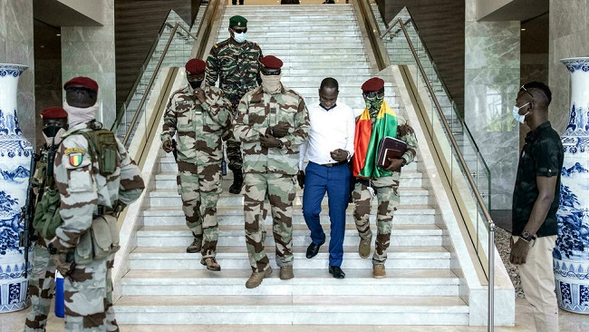 Guinea's junta rules out exile for ousted president