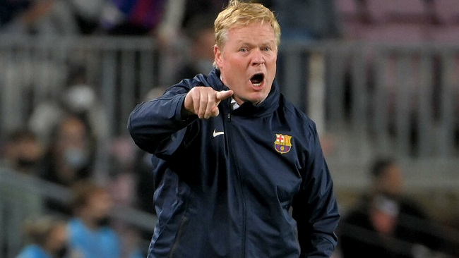 Football: Under-fire Koeman refuses to answer questions in Barca press conference